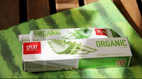 Отзыв: Зубная паста ORGANIC от Splat - неужели правда натуральная?!