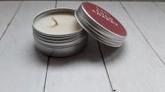 Отзыв: Ароматическая свеча из соевого воска «Холодная вишня» от бренда Smorodina