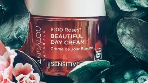 """Отзыв: Дневной крем для лица Andalou  Naturals """"1000 роз"""""""