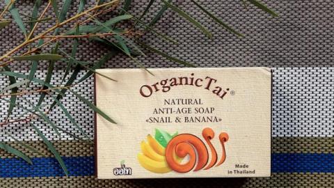 """Отзыв: Мыло натуральное """"Экстракт улитки и банан"""" Organic Tai - а натуральное ли ты?!"""