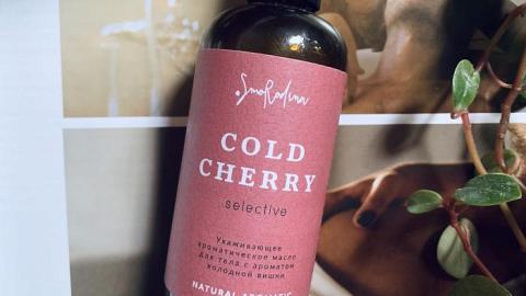 Отзыв от Stucha: Ароматическое масло для тела «Холодная вишня»