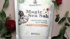 """Отзыв: Морская соль Magic Sea Salt """"Мандарин"""""""