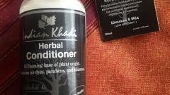 Отзыв: Натуральный кондиционер с медом и акацией Indian Khadi