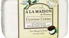 Отзыв: Мыло для рук и тела Coconut Cream A La Maison de Provence