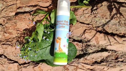 Отзыв: Органический детский солнцезащитный лосьон SPF 50
