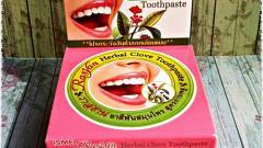 Отзыв: Она необычайна и прекрасна! Моя новая тайская Травяная зубная паста – ISME Rasyan Herbal Clove, с гвоздикой!