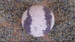 "Отзыв: Бурлящий шарик для ванн ""Лаванда"" с пеной L'Cosmetics"