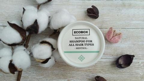 Отзыв: Натуральный густой шампунь для всех типов волос Ментол. Особо не удивил, но и придераться не буду