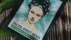 Отзыв: Тканевая маска для жирной и проблемной кожи Miss Laminaria