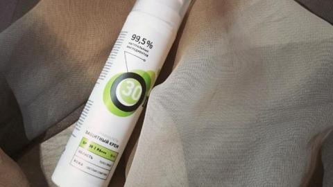 Отзыв от JoySS: Крем защитный от ультрафиолета SPF 30