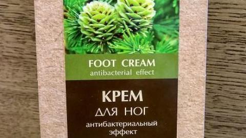 Отзыв: Крем для ног Антибактериальный от Eco Lab
