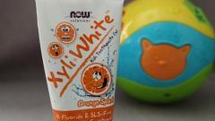 """Отзыв: Зубная паста-гель для детей 2+ от Now Foods """"Xyli White, Апельсиновый всплеск"""""""
