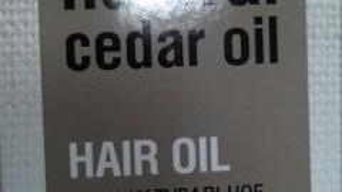 Отзыв: Натуральное масло кедра для волос Organic Shop