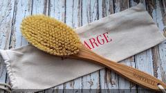 Отзыв: Дренажная щётка для сухого массажа с волокном кактуса. Версия HOME от бренда Lumarge