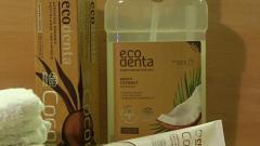 Отзыв: Борьба с зубным камнем — я победила! Зубная паста и ополаскиватель от Ecodenta.
