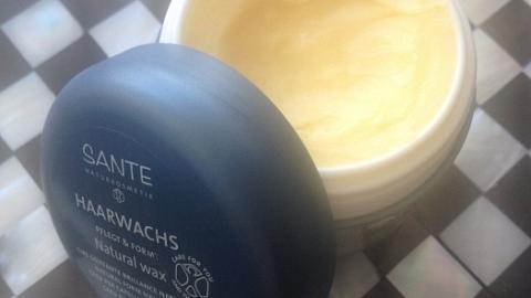 Отзыв: Натуральный воск для волос Sante