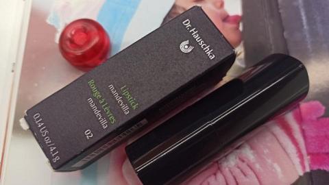 Отзыв: Помада от Хаушки - 02 пепельно-розовая мандевилла (Lipstick 02 mandevilla)