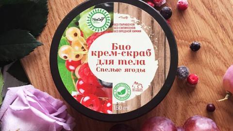 Отзыв: Био крем-скраб для тела Спелые ягоды от компании Nice Day (Триумф красоты)