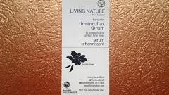 Отзыв: Лифтинг-сыворотка со льном Living Nature