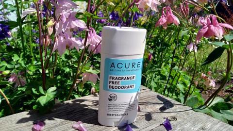 Отзыв: Дезодорант ACURE FRAGRANCE FREE (без аромата)