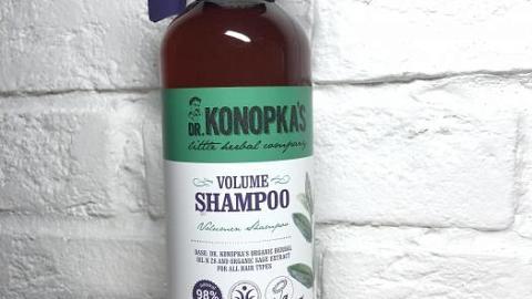 Отзыв: Шампунь для объема волос Dr.Konopka's