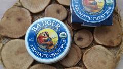 Отзыв: Органическая ароматическая мазь с эвкалиптом и мятой Badger Company для растираний при простуде