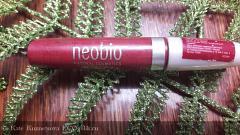 Отзыв: Блеск для губ 03 фантастический красный Neobio