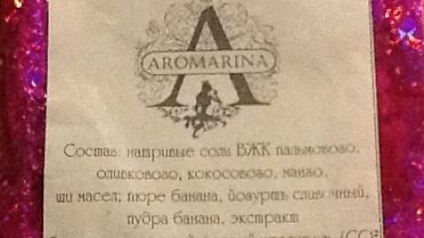 "Отзыв: Крем-мыло ""Банан и йогурт"" Aromarina"