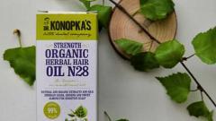 Отзыв: Боремся с выпадением с маслом для волос на основе лечебных трав №28  от Dr. Konopka's