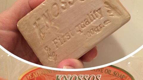 Отзыв: Мыло оливковое натуральное с медом  Knossos