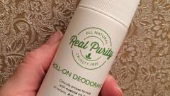 Отзыв: Роликовый дезодорант Real Purity