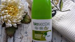 """Отзыв: Шариковый дезодорант с квасцами """"Гранат"""" от бренда Biosecure"""