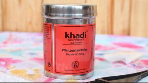 """Отзыв: Khadi Краска для волос """"Хна и Амла"""" растительная - кому и для чего?"""