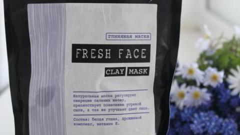 Отзыв: Маска с белой глиной Fresh Face от Helen Gold - маска с эффектом перхоти :(
