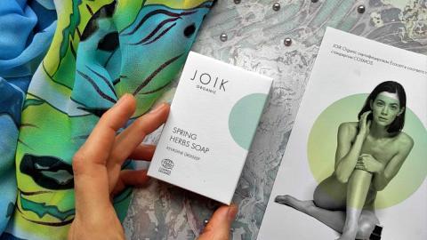 Отзыв от FominaOlesya: JOIK ORGANIC Мыло с весенними травами