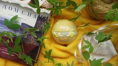 """Отзыв: Бурлящий шар """"Лимонный зефир"""" Kleona"""