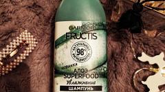 Отзыв: Натуральность в массы. Шампунь с алоэ Superfood  для увлажнения волос, оценили ли они такое правильное питание?