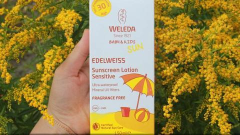 Отзыв от Ленок: Натуральный солнцезащитный крем для младенцев и детей SPF 30