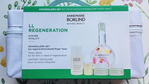 Отзыв: Набор средств из линейки LL Regeneration от Annemarie Borlind