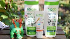 Отзыв: Замечательная косметика для детей Neobio: шампунь и гель-пена для ванны
