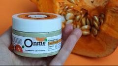 Отзыв: Эффективная новинка у Onme от воспалений на лице. Маска с энзимами тыквы