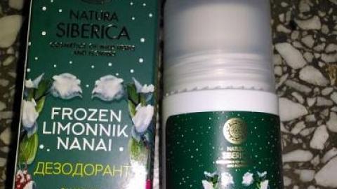 """Отзыв: Дезодорант """"Энергия и свежесть"""" от Natura Siberica"""