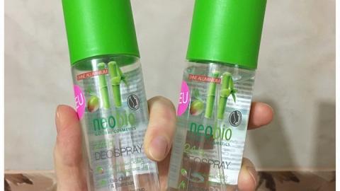 Отзыв: Дезодорант спрей 24 часа с био-оливой и бамбуком Neobio
