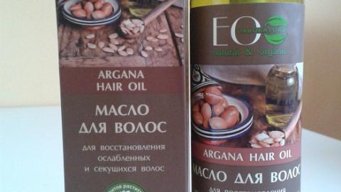 Отзыв: Аргановое масло для восстановления волос Ecolab