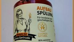 Отзыв: Бальзам для волос Восстановливающий Oma Gertrude