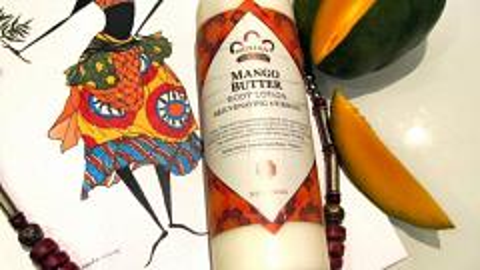 Отзыв: Из сердца Африки - Nubian Heritage, лосьон для тела с маслом манго, омолаживающий и подтягивающий