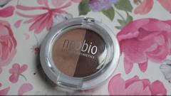 Отзыв: Небольшое разочарование - двойные тени для век Neobio в оттенке 02 коричневое шампанское