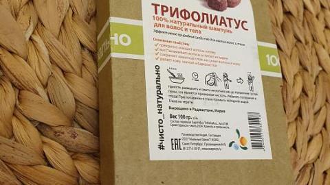 Отзыв от Оксашечка: Трифолиатус натуральный шампунь для волос
