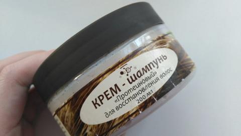 """Отзыв: Крем-шампунь """"Протеиновый"""" для восстановления волос Микролиз"""