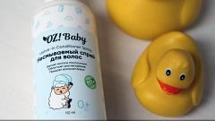 Отзыв от Pink_panda:  OZ!Baby  Несмываемый спрей для волос детский